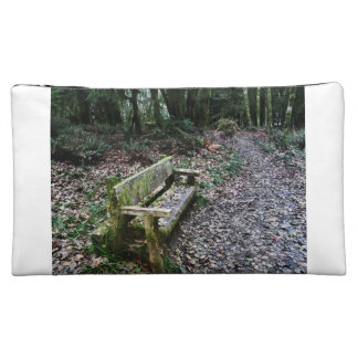 Mossy Bench Nature Trail in Olympic National Park Cosmetic Bag
