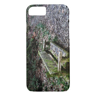 Mossy Bench Nature Trail in Olympic National Park iPhone 7 Case