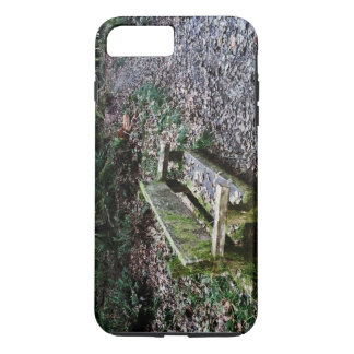 Mossy Bench Nature Trail in Olympic National Park iPhone 7 Plus Case
