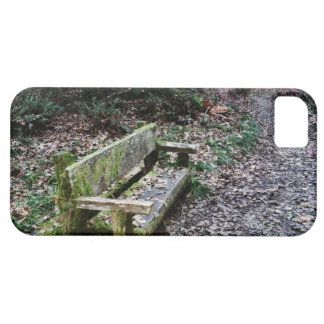 Mossy Bench Nature Trail in Olympic National Park iPhone SE/5/5s Case