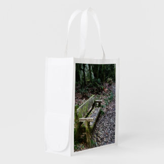 Mossy Bench Nature Trail in Olympic National Park Market Tote