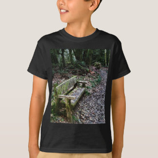 Mossy Bench Nature Trail in Olympic National Park T-Shirt