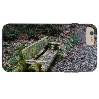 Mossy Bench Nature Trail in Olympic National Park Tough iPhone 6 Plus Case