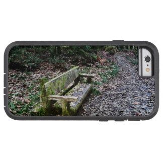 Mossy Bench Nature Trail in Olympic National Park Tough Xtreme iPhone 6 Case