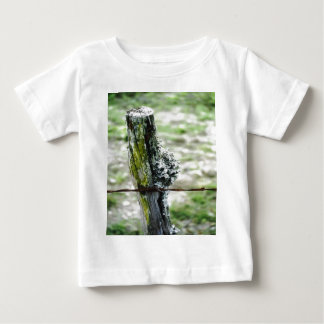 Mossy Fence Post Baby T-Shirt