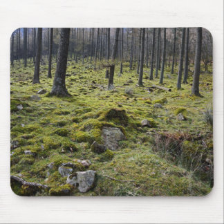 Mossy Forest Mouse Mat