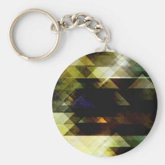Mossy Green Abstract Keychains