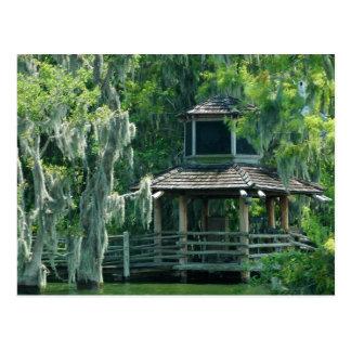 Mossy Hut Postcard