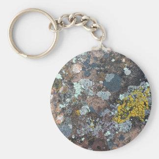 mossy keychain