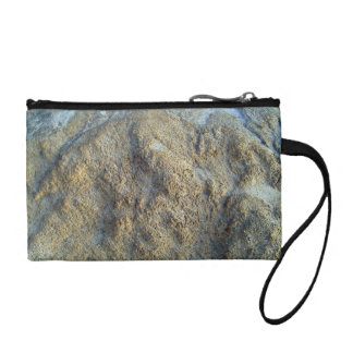 Mossy limestones texture coin purse
