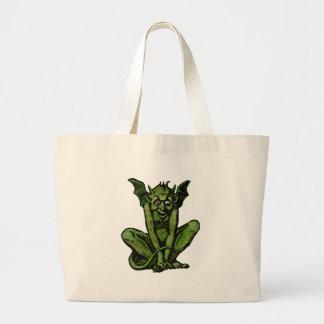 Mossy Little Green Goblin Man Bags