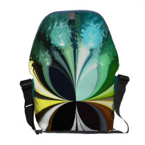 Mossy Moths Courier Bag