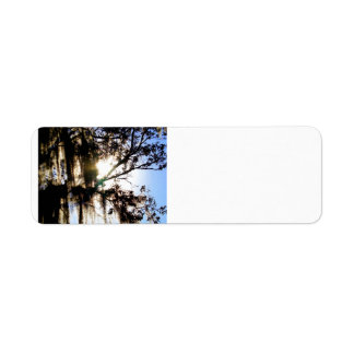 Mossy Oak Return Address Label