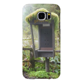 Mossy Phone Booth Samsung Galaxy S6 Case