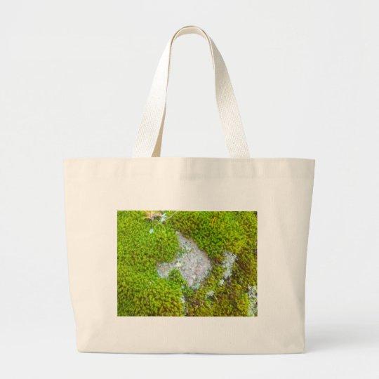 mossy rock.jpg large tote bag