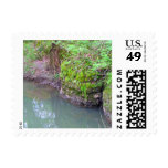 Mossy Rock Postage Stamps