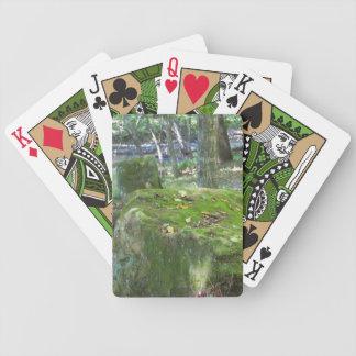 Mossy Rocks Poker Deck