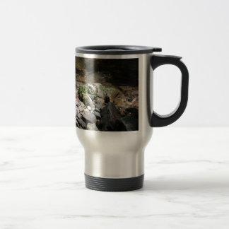 Mossy Rocks Travel Mug