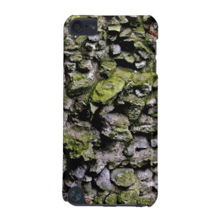 Mossy Stone Wall iPod touch case