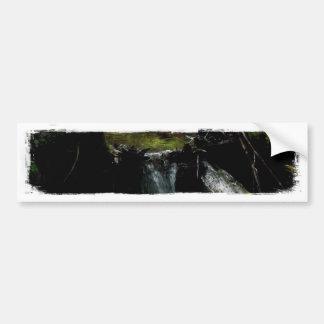 Mossy Waterfall Bumper Sticker