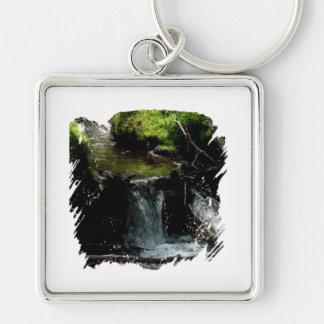 Mossy Waterfall Keychain
