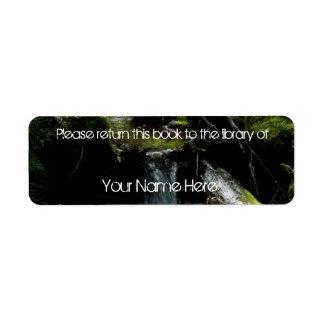 Mossy Waterfall Label