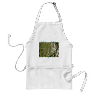 Mossy Wood Texture Apron