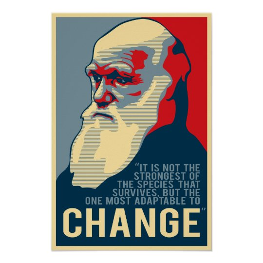 Most Adaptable to Change Poster