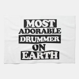 Most Adorable Drummer Kitchen Towel