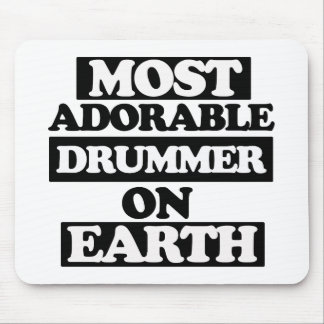 Most Adorable Drummer Mouse Pad