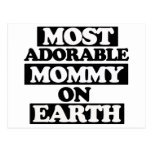 Most Adorable mommy Postcards