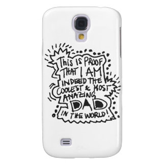 Most Amazing Dad 1 Galaxy S4 Cover