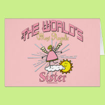 Most Angelic Sister Card