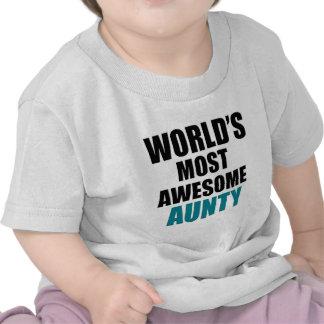 Most awesome aunty tshirt