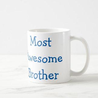 Most awesome brother coffee mug