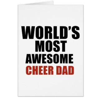 Most awesome cheer dad card