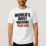 Most awesome cheer dad t shirts
