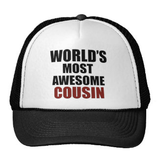 Most awesome COUSIN Trucker Hat