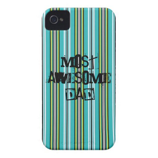 Most Awesome Dad Iphone 4/4S Case Case-Mate iPhone 4 Case