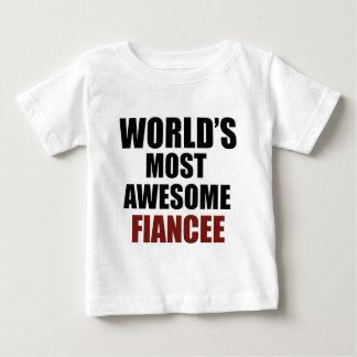Most awesome Fiancée T Shirt