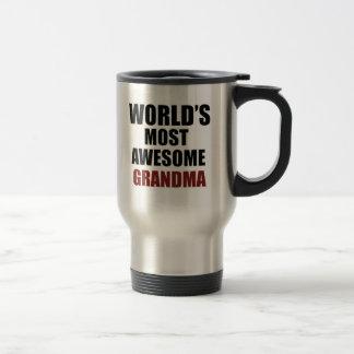 Most awesome GRANDMA Travel Mug