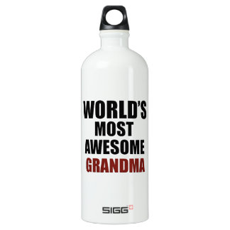 Most awesome GRANDMA Water Bottle