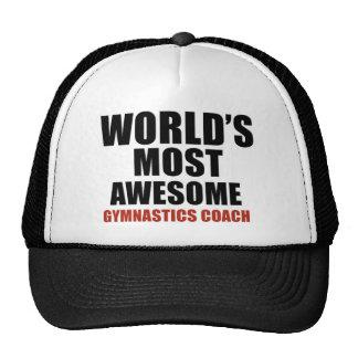 Most awesome GYMNASTICS COACH Trucker Hat