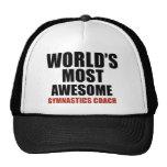 Most awesome GYMNASTICS COACH Mesh Hats