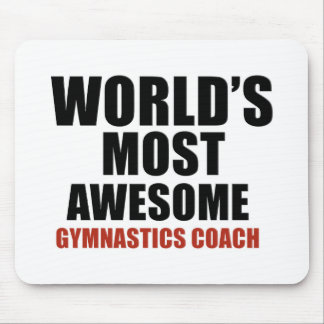 Most awesome GYMNASTICS COACH Mouse Pad