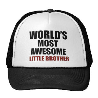 Most awesome little brother trucker hat