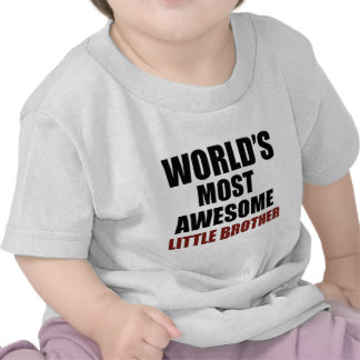 Most awesome little brother t-shirts