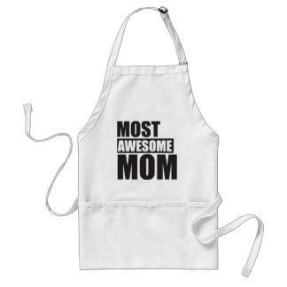 MOST AWESOME MOM ADULT APRON
