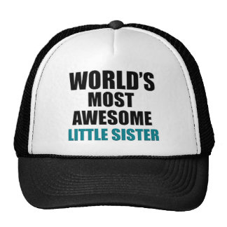 Most awesome sister trucker hat