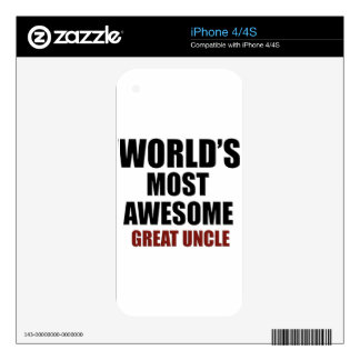 Most awesome uncle skins for iPhone 4S